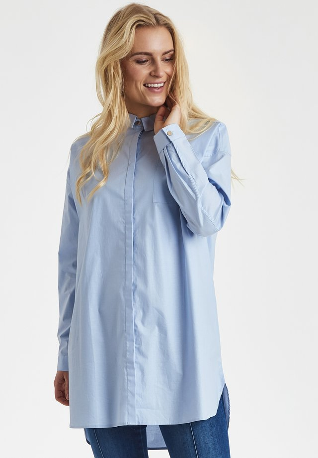 DRHOLLIE - Button-down blouse - blue