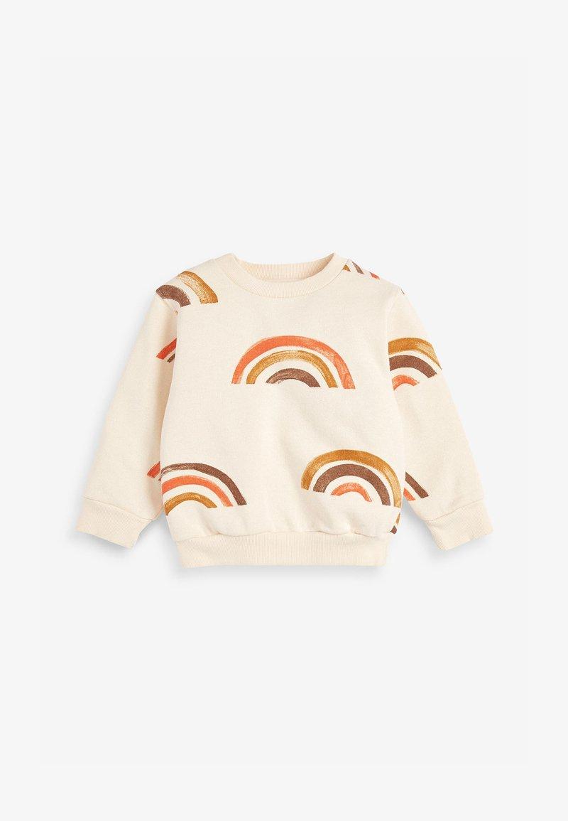 Next - RAINBOW - Sweatshirt - stone