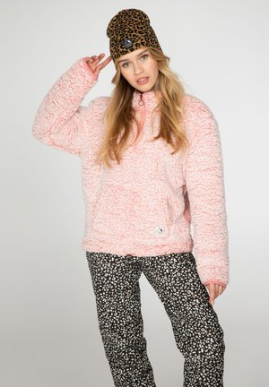 CAMILLE - Fleece jumper - think pink