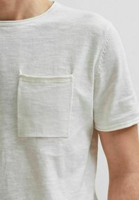 Selected Homme - T-shirt - bas - white - 3
