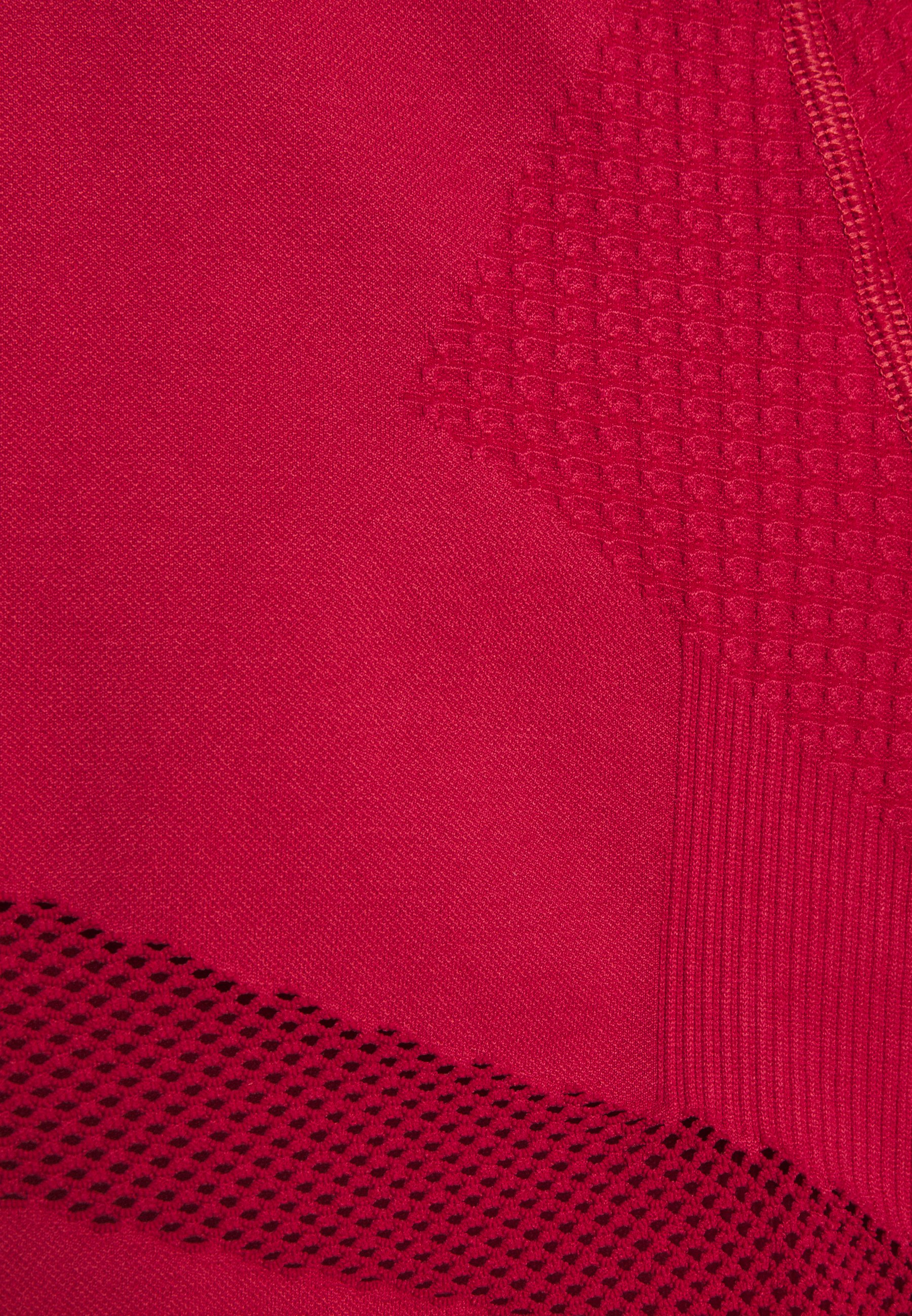 NU-IN LONG SLEEVE COMPRESSION  - Long sleeved top - red H8RVP