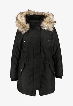 CARIRENA COAT - Vinterkåpe / -frakk - black