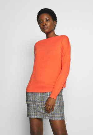 SODA - Long sleeved top - fresh coral