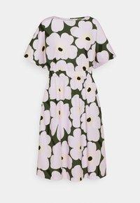 Marimekko - SILOINEN  - Vestito estivo - dark green/lavender - 4