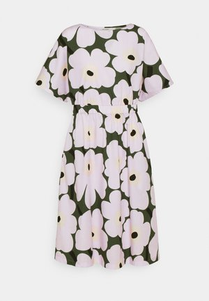 SILOINEN  - Day dress - dark green/lavender