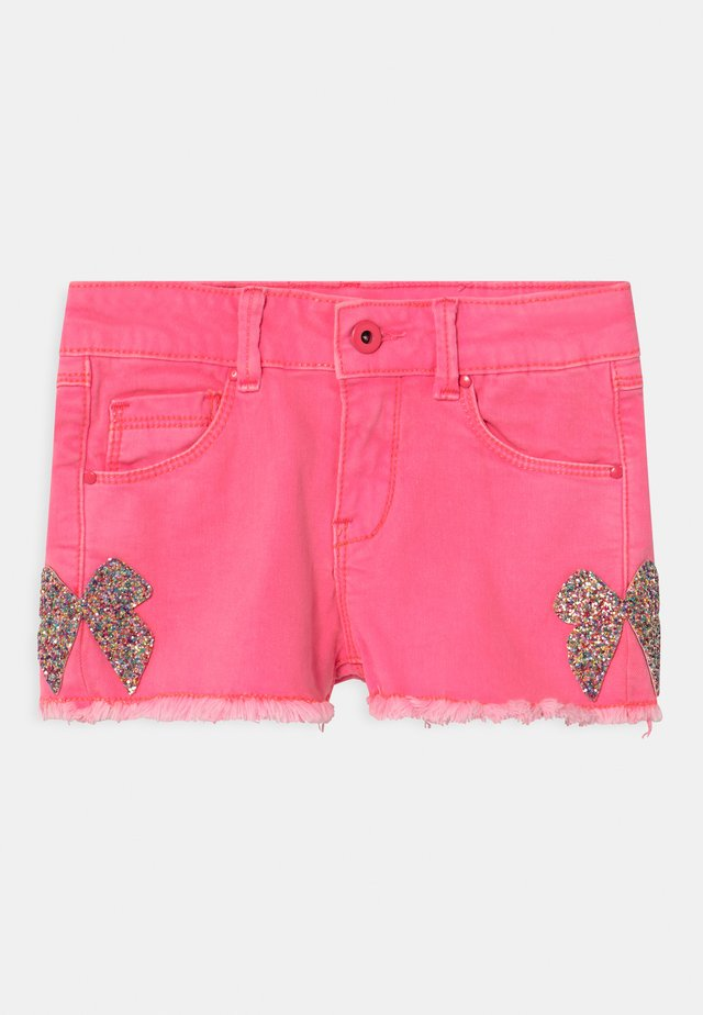 Jeansshorts - pink