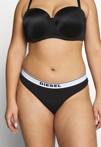 Diesel - UFST-STARSX-THREEPACK 3 PACK - Thong - black/black/grey - 1