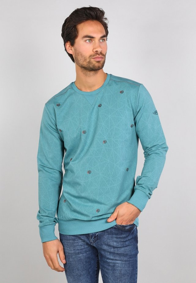 Sweatshirt - kale green