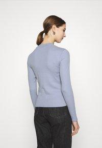 Monki - Long sleeved top - blue light - 2