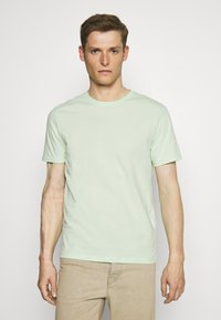 Pier One - 3 Pack - T-Shirt basic - white/green/pink - 3