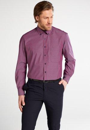 Shirt - rot/blau