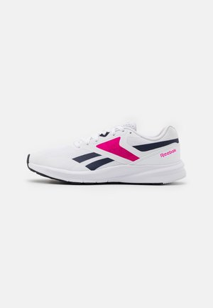 RUNNER 4.0 - Zapatillas de running neutras - white/vector navy/proud pink