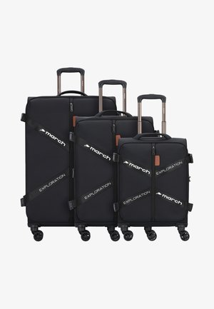3 SET - Set de valises - black