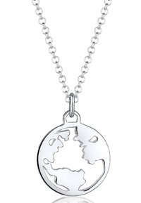 Elli - Weltkugel Globus - Halsband - silver-coloured - 2