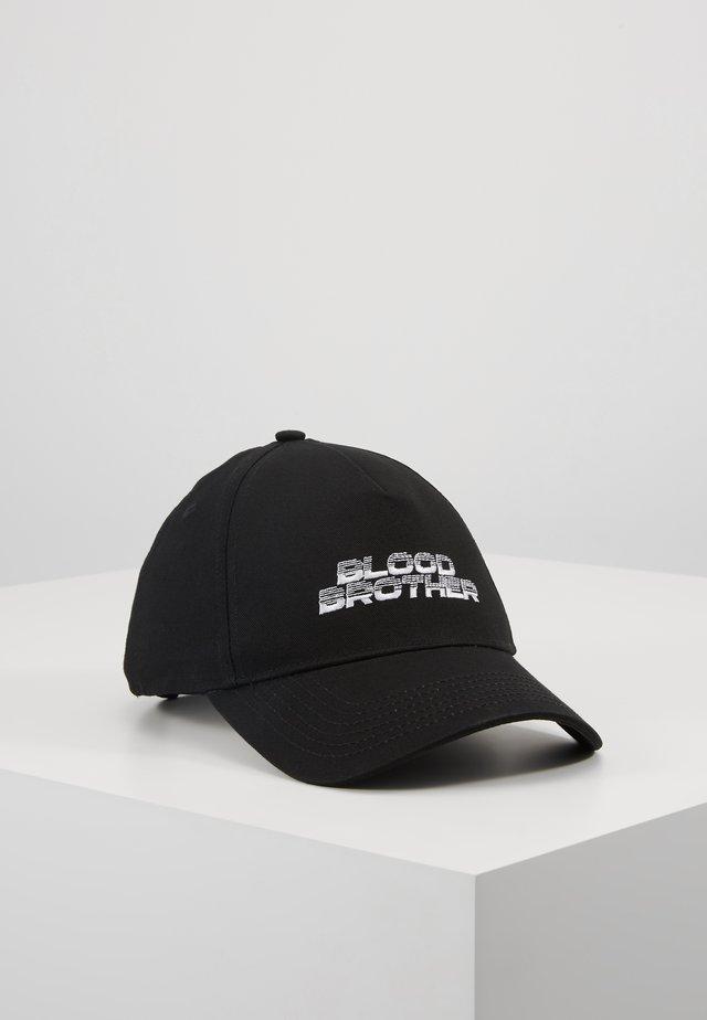 CANDOR2 BASEBALL  - Gorra - black/white