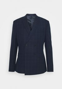Isaac Dewhirst - THE FASHION SUIT PEAK WINDOW CHECK - Suit - dark blue - 16