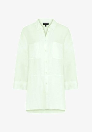 LIME OVERSIZED  - Button-down blouse - light green