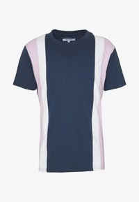Bellfield - CU AND SEW TEE - Print T-shirt - navy - 4