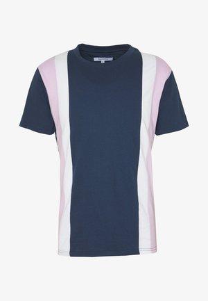 CU AND SEW TEE - T-shirt print - navy