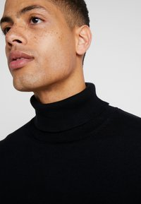 Esprit - ROLLNECK - Jumper - black - 5
