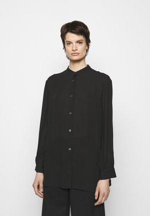 LAYLA BLOUSE - Button-down blouse - black