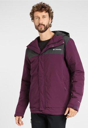 HORIZON EXPLORER - Winter jacket - black cherry, shark