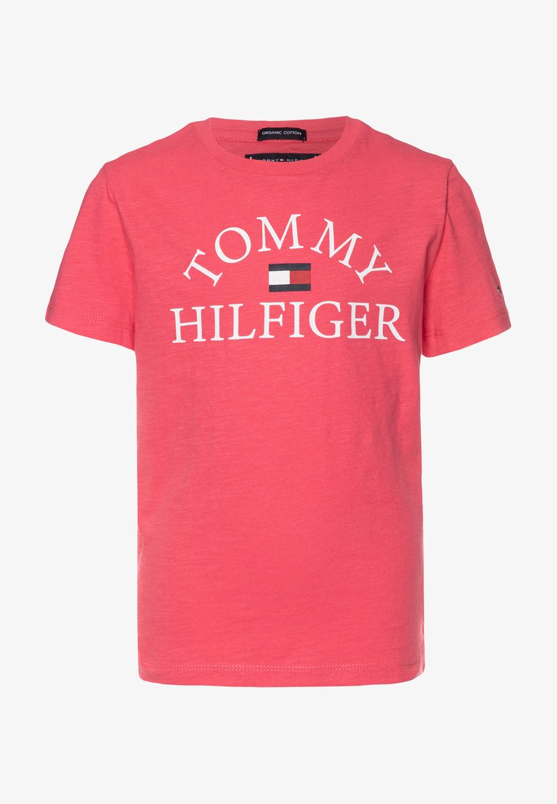 Tommy Hilfiger - ESSENTIAL LOGO - T-shirt z nadrukiem - pink