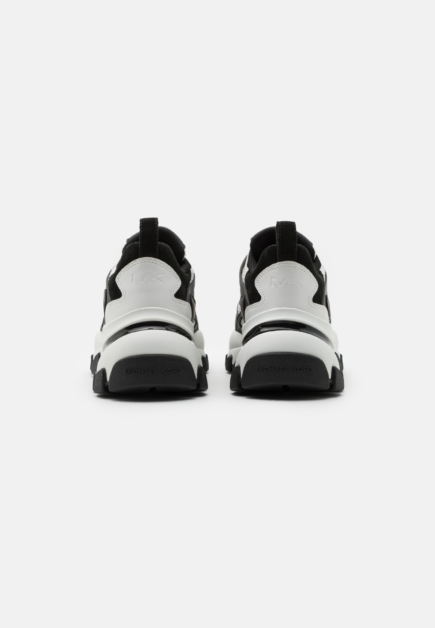 Michael Kors NICK TRAINER - Sneaker low - white/black/weiß - Herrenschuhe lToKz