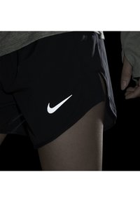 Nike Performance - TEMPO LUX   - Sports shorts - black/anthracite/reflective silv - 5