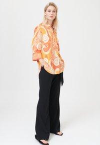 Dea Kudibal - KAMI (V) - Button-down blouse - khanga orange - 1