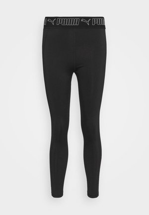 TRAIN ELASTIC 7/8 - Leggings - black