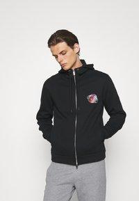Emporio Armani - Zip-up sweatshirt - nero - 2