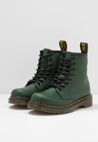 Dr. Martens - 1460 ROMARIO - Lace-up ankle boots - green - 3