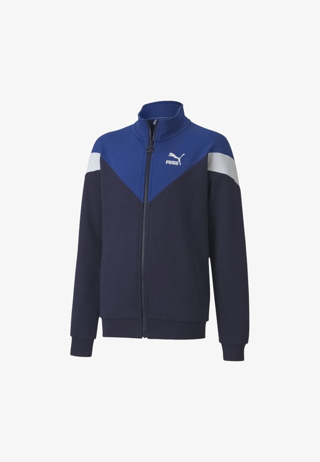 ICONIC MCS YOUTH TRACK  - Training jacket - peacoat