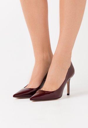 INES - Zapatos altos - bordaux