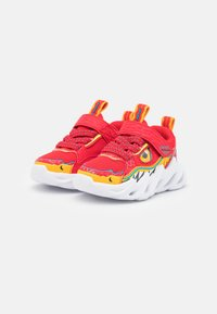 Skechers - SHARK-BOTS - Trainers - red/yellow/blue - 1