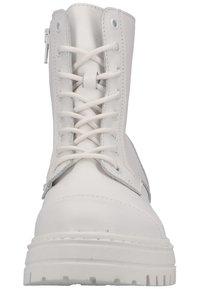 Steven New York - Snørestøvletter - white leather 107 - 6