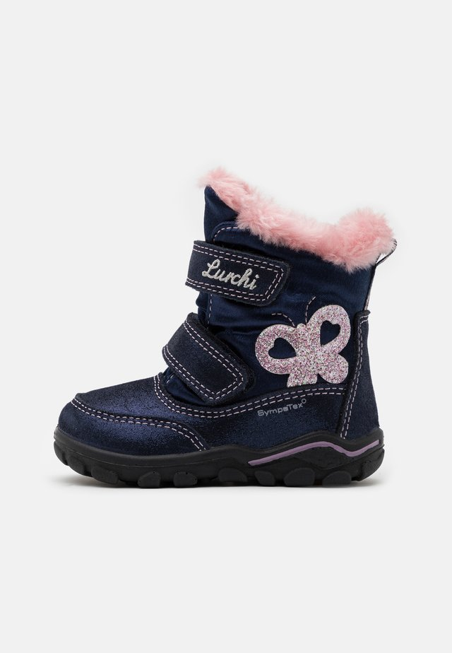 KERANI SYMPATEX - Winter boots - atlantic/rose