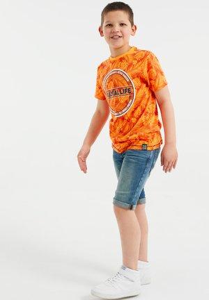 T-shirts print - bright orange