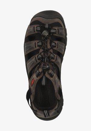 SANDALEN - Chodecké sandály - grey/black