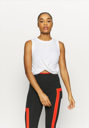 RUN WITH IT TWIST TANK - Top - lunar grey