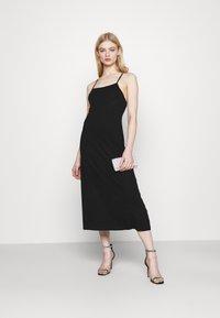 Fashion Union - CRAWFORD DRESS - Žerzejové šaty - black - 1