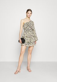 Gina Tricot - EXCLUSIVE MERIDIANDRESS - Cocktail dress / Party dress - black/multi-coloured - 1