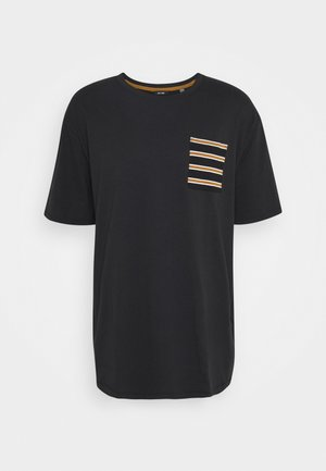 ONSMELTIN LIFE POCKET TEE - T-shirts print - black