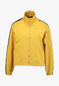 Obey Clothing - JAX TRACK ZIP - Summer jacket - mustard - 3