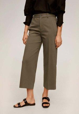WIDE - Pantalon classique - khaki