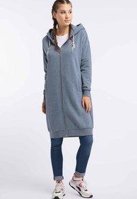 myMo - Zip-up hoodie - marine melange - 1
