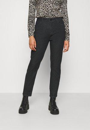 NMOLIVIA - Jeans straight leg - black denim
