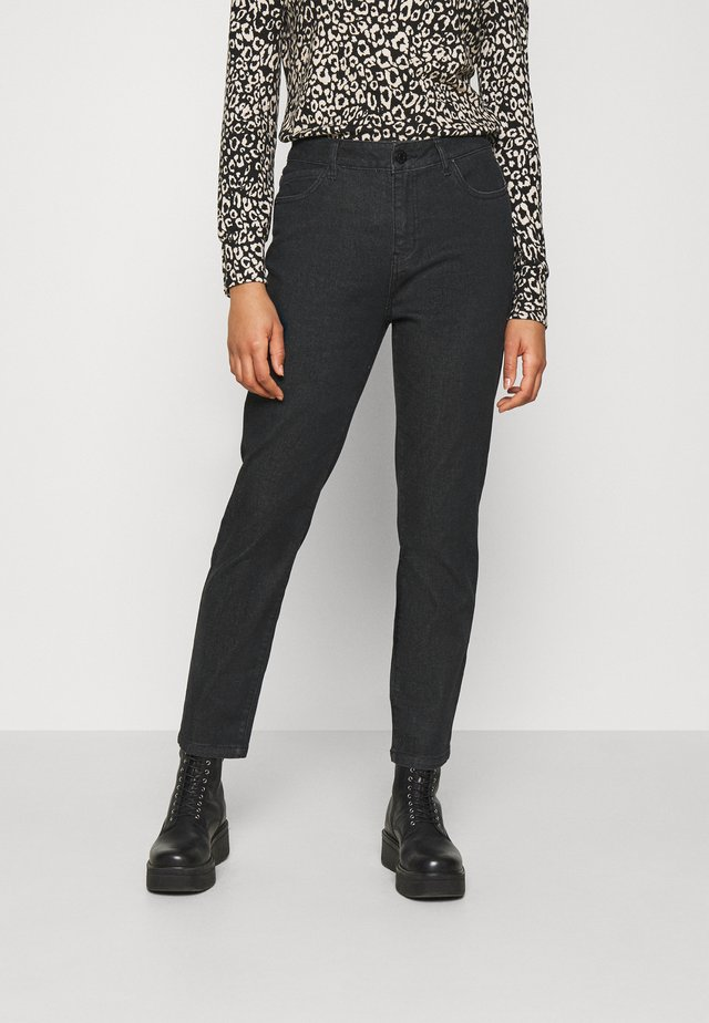 NMOLIVIA - Jean droit - black denim