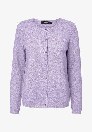 Cardigan - pastel lilac